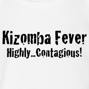 Kizomba Fever Highly Contagious! - Short Sleeve Baby Bodysuit