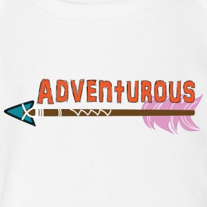 Adventurous - Short Sleeve Baby Bodysuit