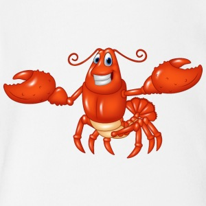 Lobster food animal ocean wildlife sea image art - Short Sleeve Baby Bodysuit