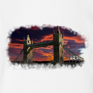 sunset in london - Short Sleeve Baby Bodysuit