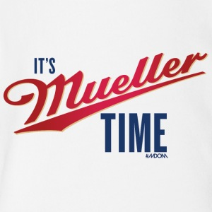 It's MUELLER Time! - Short Sleeve Baby Bodysuit