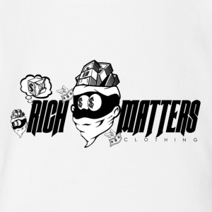 Rich Matters Clothing Brand - Short Sleeve Baby Bodysuit