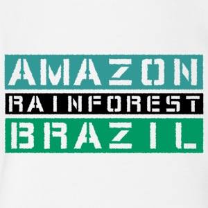 Amazon rainforest Brazil - Short Sleeve Baby Bodysuit