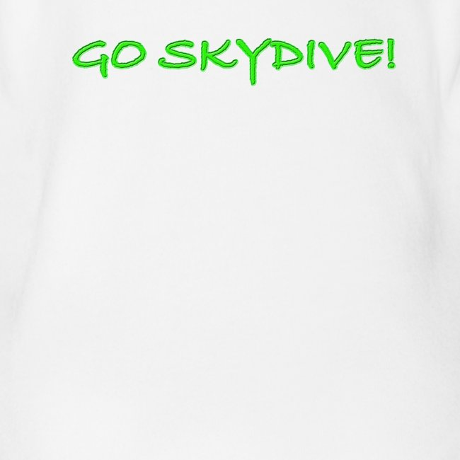 Go Skydive T-shirt/Book Skydive