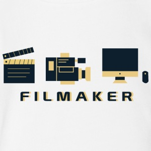CREATIVE DESIGN || FILM MAKER - Short Sleeve Baby Bodysuit