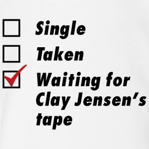 Waiting for Clay Jensen's tape - Short Sleeve Baby Bodysuit