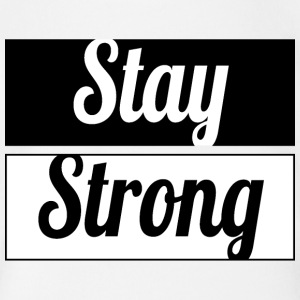 Stay Strong - Short Sleeve Baby Bodysuit
