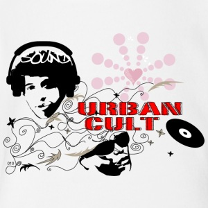 URBAN CULT - Short Sleeve Baby Bodysuit