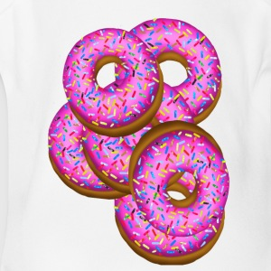 Donuts donuts donuts! - Short Sleeve Baby Bodysuit