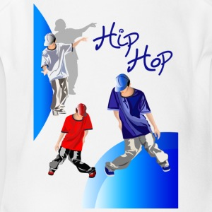 hiphop - Short Sleeve Baby Bodysuit