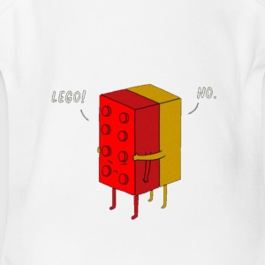 lego!! - Short Sleeve Baby Bodysuit