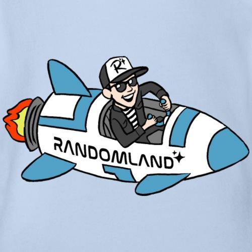 Randomland Rocket - Organic Short Sleeve Baby Bodysuit