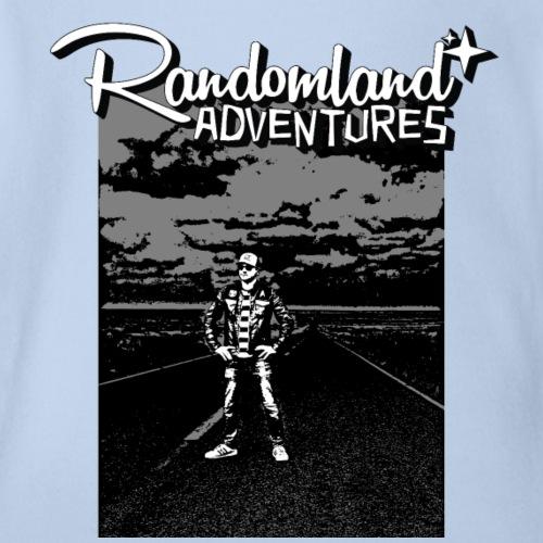 Randomland™ Road shirt - Organic Short Sleeve Baby Bodysuit
