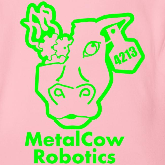 MetalCowLogo GreenOutline