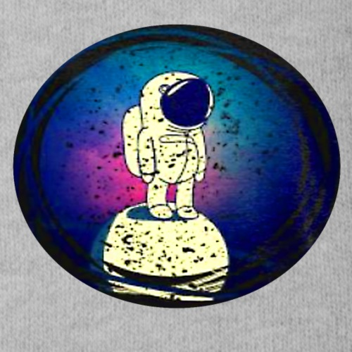 Space man - Organic Short Sleeve Baby Bodysuit