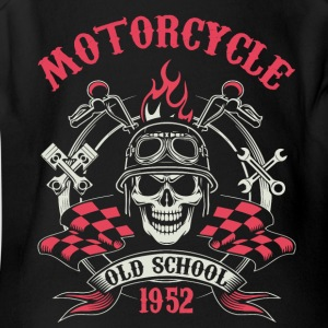 Motocycle Tshirs - Short Sleeve Baby Bodysuit