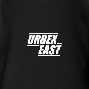 Urbex East Logo - Short Sleeve Baby Bodysuit