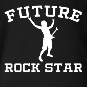 Future Rock Star - Short Sleeve Baby Bodysuit