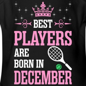 Best Players Are Born In December - Short Sleeve Baby Bodysuit