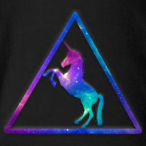 Galactic Unicorn - Short Sleeve Baby Bodysuit