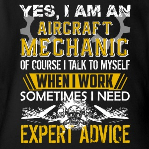 Aircraft Mechanic Shirt - Short Sleeve Baby Bodysuit
