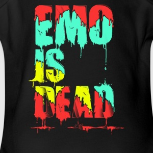 Emo is Dead - Short Sleeve Baby Bodysuit