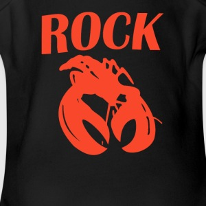 Rock Lobster Retro - Short Sleeve Baby Bodysuit