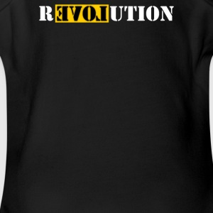 Revolution Government Obama - Short Sleeve Baby Bodysuit