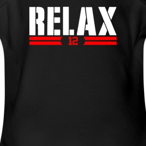 Relax 12 - Short Sleeve Baby Bodysuit