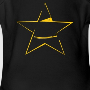 NINJA STAR - Short Sleeve Baby Bodysuit