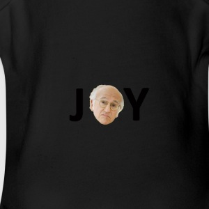 larry david joy - Short Sleeve Baby Bodysuit