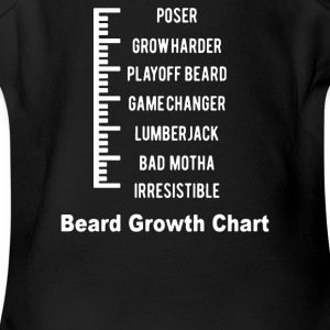 Beard Level - Short Sleeve Baby Bodysuit