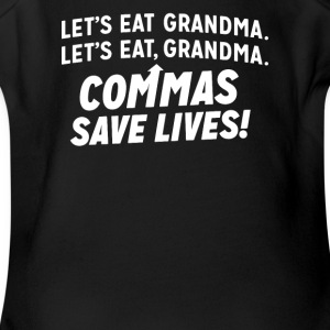 Commas Save Lives - Short Sleeve Baby Bodysuit