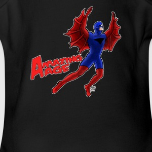 Blade Hawk from Amazing Age - Short Sleeve Baby Bodysuit
