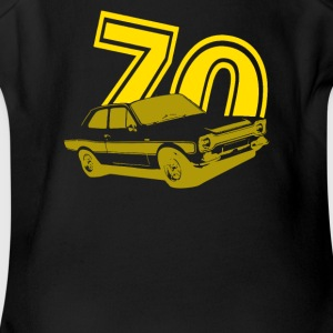 Ford Mk 1 Escort 1970 - Short Sleeve Baby Bodysuit