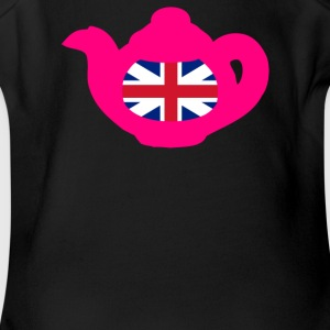 East Grinstead United Kingdom Teapot - Short Sleeve Baby Bodysuit