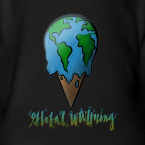 Global Warming - Short Sleeve Baby Bodysuit