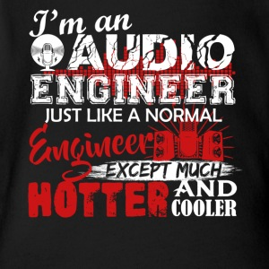 Audio Engineer Cooler Shirt - Short Sleeve Baby Bodysuit