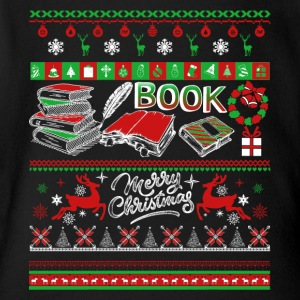 Book Shirts - Book Christmas Shirt - Short Sleeve Baby Bodysuit