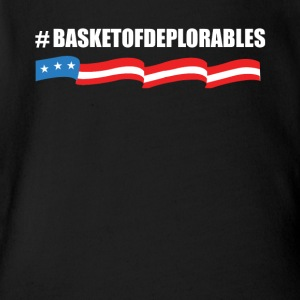 Basket of Deplorables TShirt - Short Sleeve Baby Bodysuit
