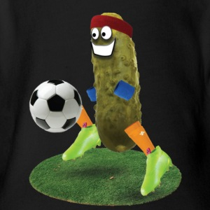 Soccer Pickle - Short Sleeve Baby Bodysuit