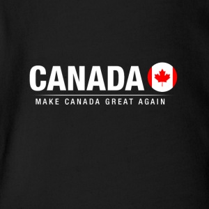 Make Canada Great Again - Short Sleeve Baby Bodysuit