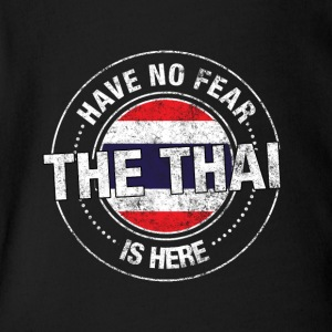 Have No Fear The Thai Is Here - Short Sleeve Baby Bodysuit