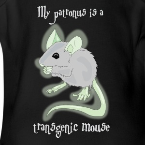 My Patronus is a Transgenic Mouse - Short Sleeve Baby Bodysuit