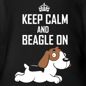 Beagle T shirt - Short Sleeve Baby Bodysuit
