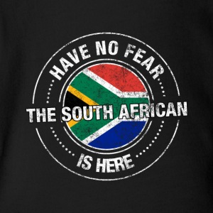 Have No Fear The South African Is Here Shirt - Short Sleeve Baby Bodysuit