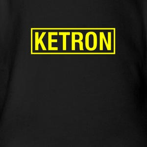Ketron yellow - Short Sleeve Baby Bodysuit