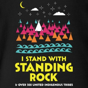 Stand With Standing Rock Shirt - Short Sleeve Baby Bodysuit