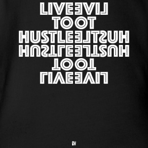 Live To Hustle - Short Sleeve Baby Bodysuit