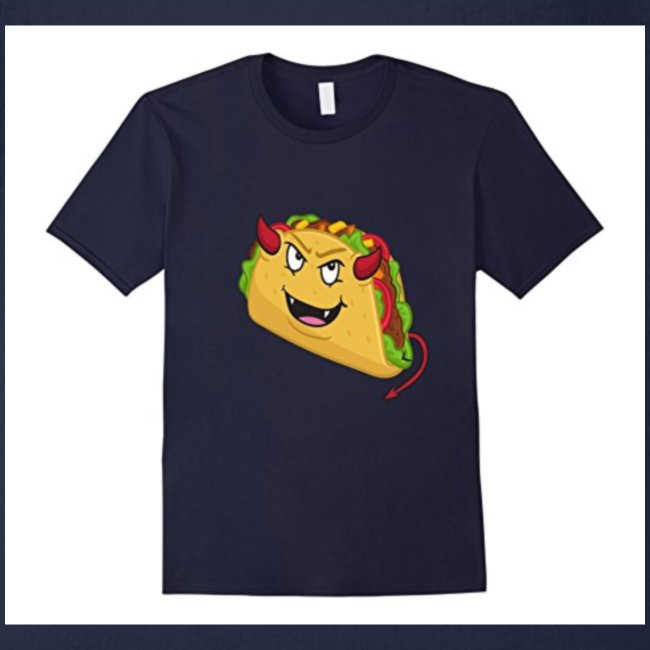 evil taco merch